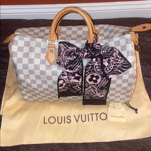 Louis Vuitton speedy 35 in azur 🌟gorgeous🌟